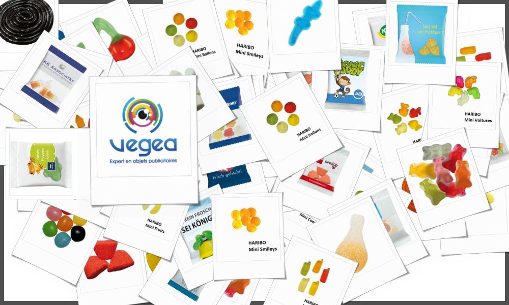 Sachets de bonbons Haribo personnalisables à votre effigie avec un logo, un texte ou une image | Grossiste et fabrication d'objets publicitaires et cadeaux d'entreprise