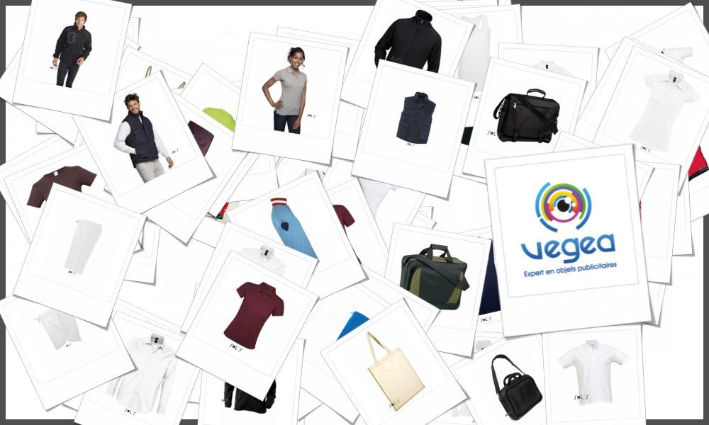 Gamme complète des vêtements SOL'S personnalisables à votre image (votre logo ou un texte)