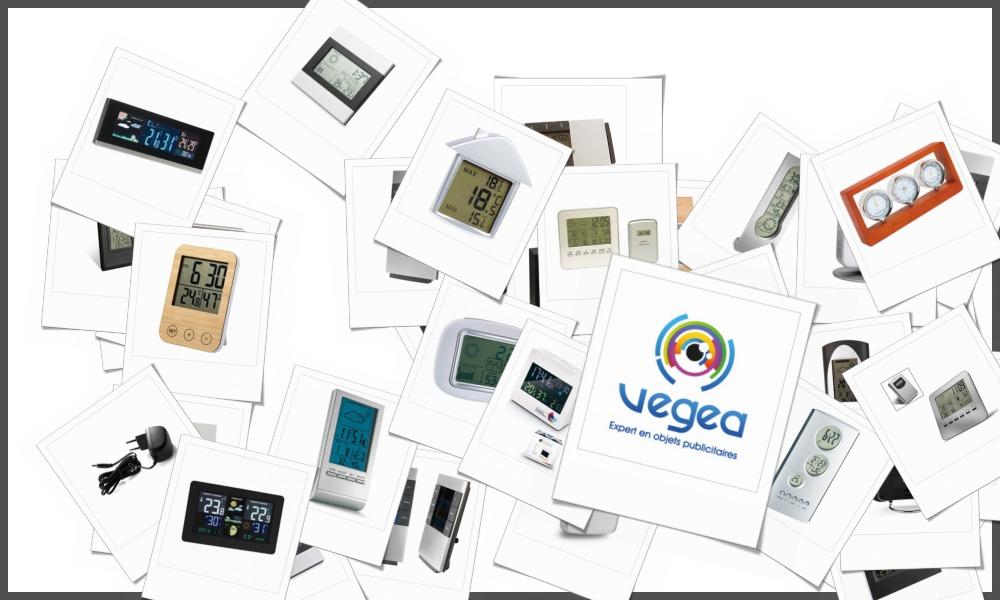 Stations météo personnalisables à votre effigie avec un logo, un texte ou une image | Grossiste et fabrication d'objets publicitaires et cadeaux d'entreprise