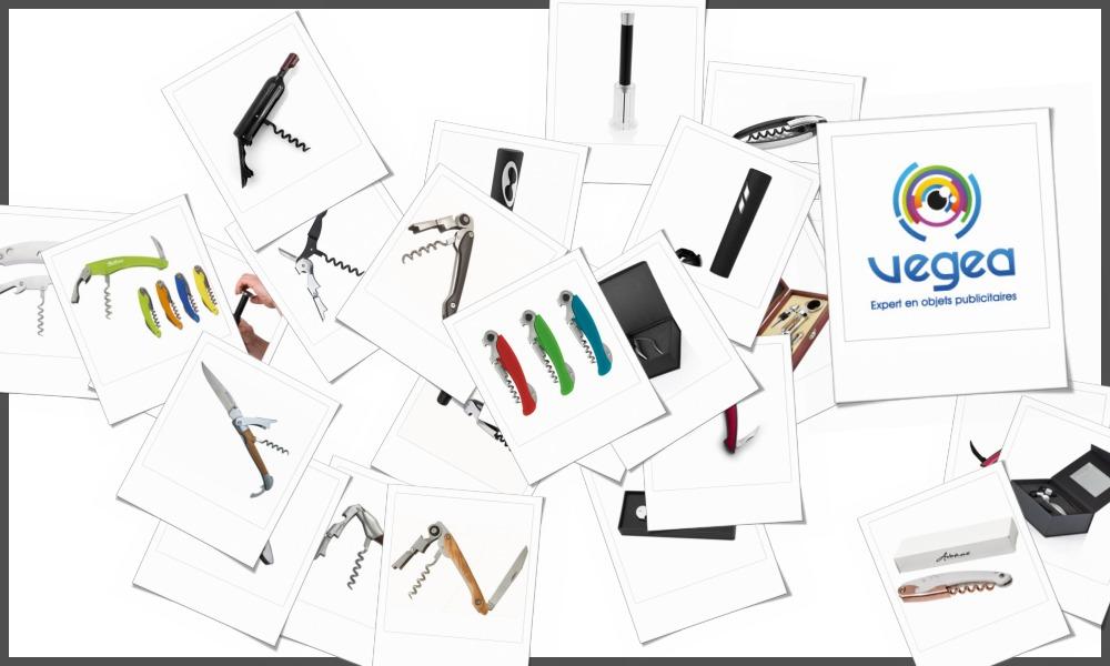 Tire-bouchons et sommeliers personnalisables à votre effigie avec un logo, un texte ou une image | Grossiste et fabrication d'objets publicitaires et cadeaux d'entreprise