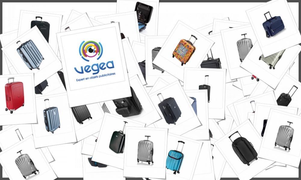 Valises trolley à roulettes personnalisables à votre effigie avec un logo, un texte ou une image | Grossiste et fabrication d'objets publicitaires et cadeaux d'entreprise