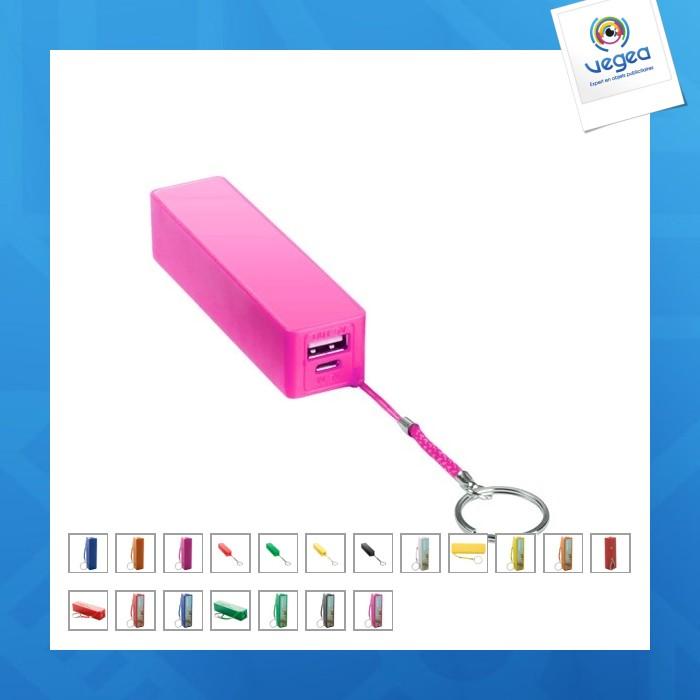 1er prix - batterie powerbank personnalisé  - 2000 mah