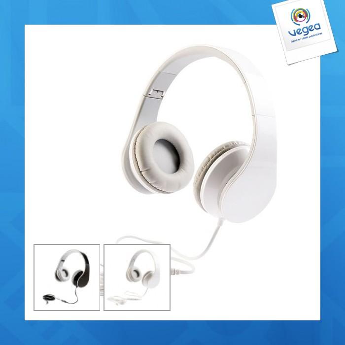Auriculares de promoción con micrófono sonic clip