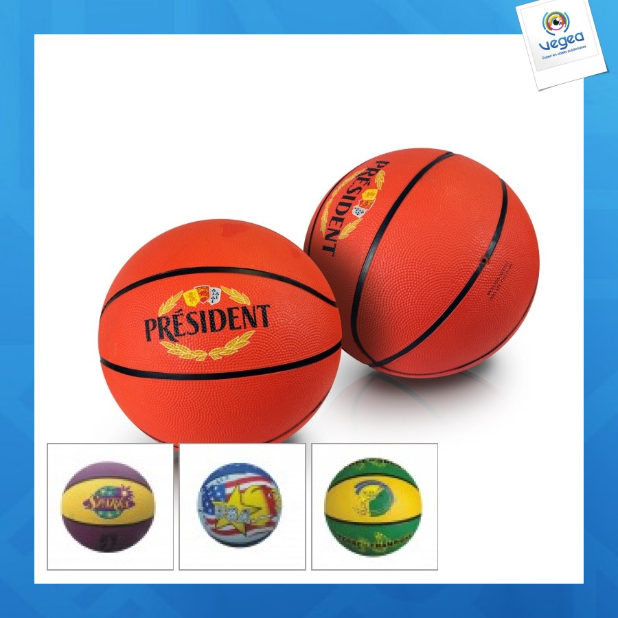 Ballon de basket personnalisable promotionnel