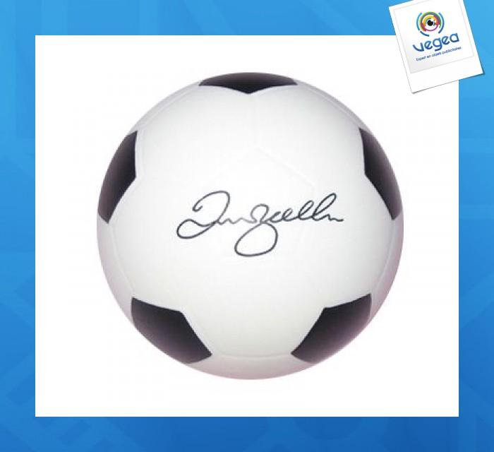 Ballon de football personnalisable 01377v0040221 partir de 1 11 euros ht - Objet anti stress bureau ...
