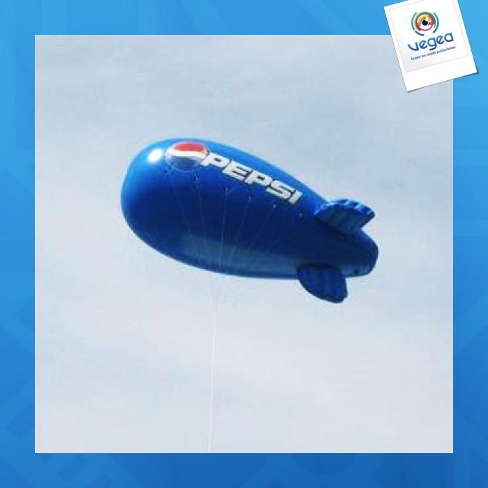 Ballon dirigeable logoté 8m