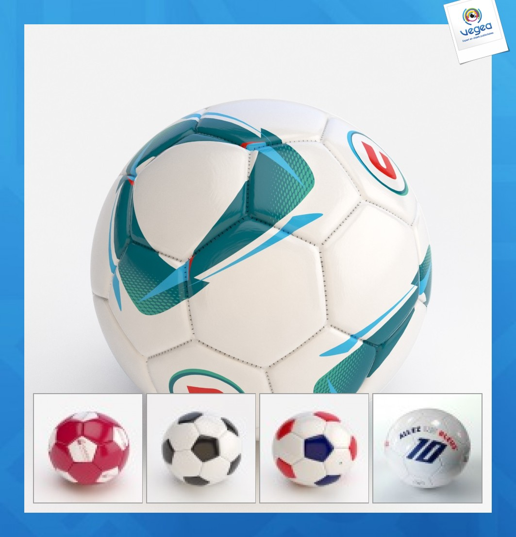 Ballon foot sur-mesure classique