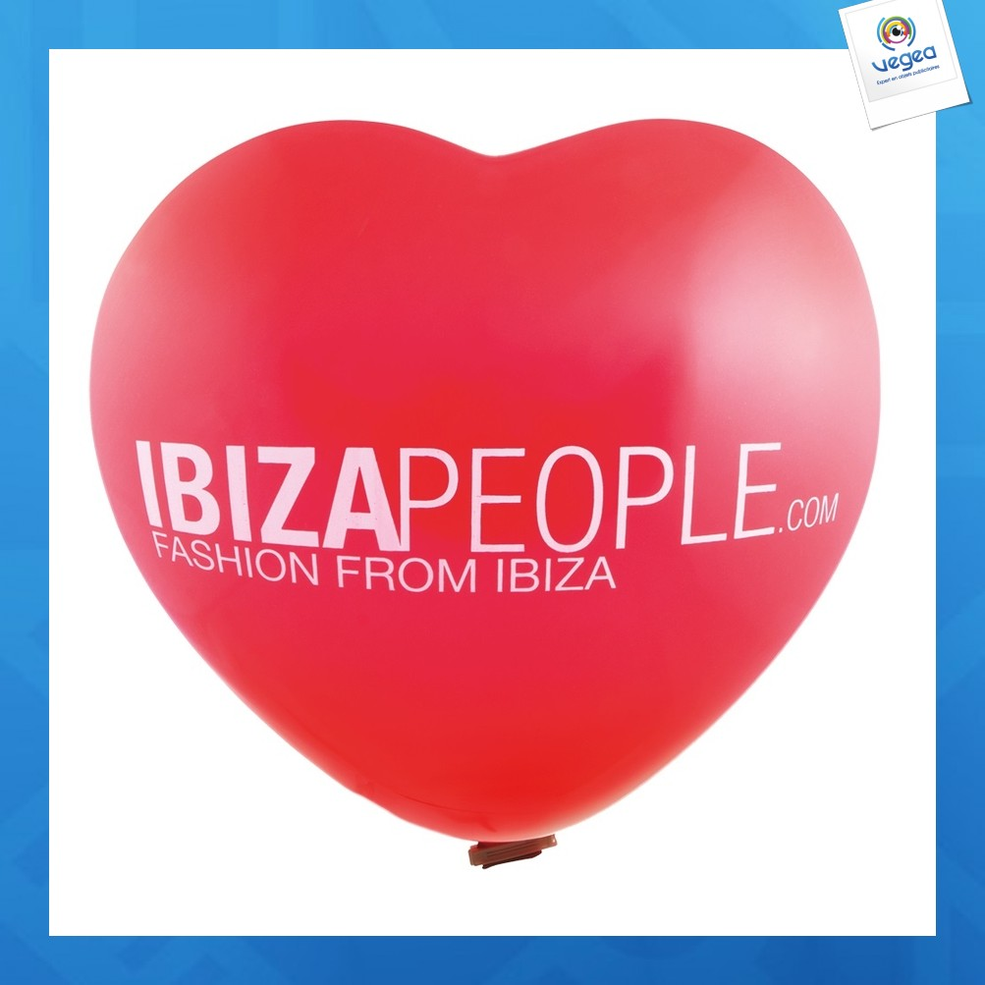 Ballon géant coeur 70cm