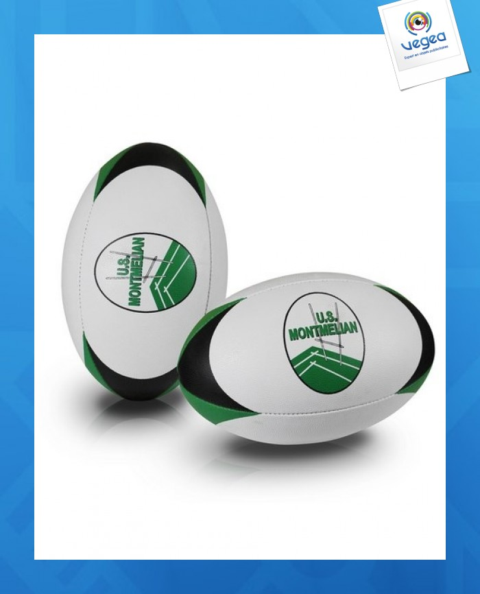 Ballon rugby rubber officiel