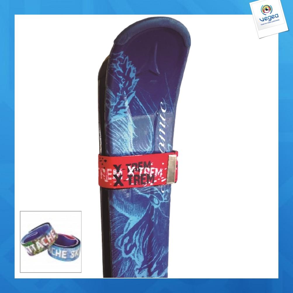 Bande attache ski