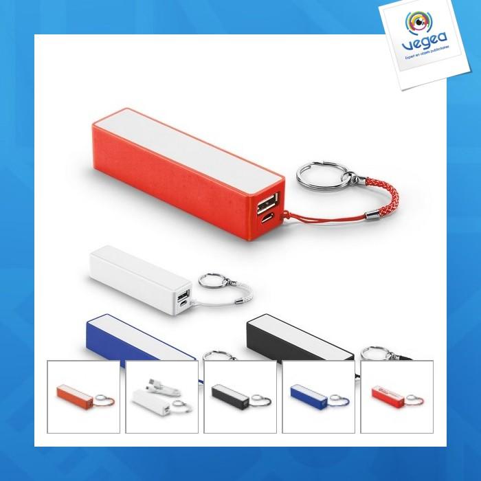 Batería de reserva de powerbank personalizable - 2000 mah