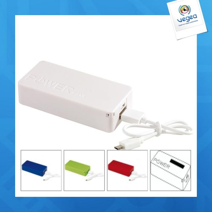 Batterie de secours publicitaire 4.000 mah