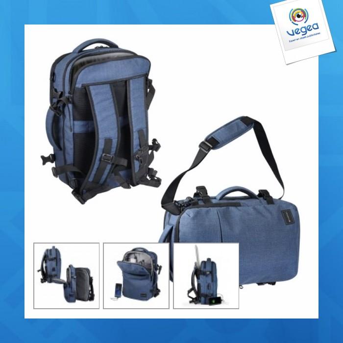 Besace/sac à dos logoté vuarnet travelink