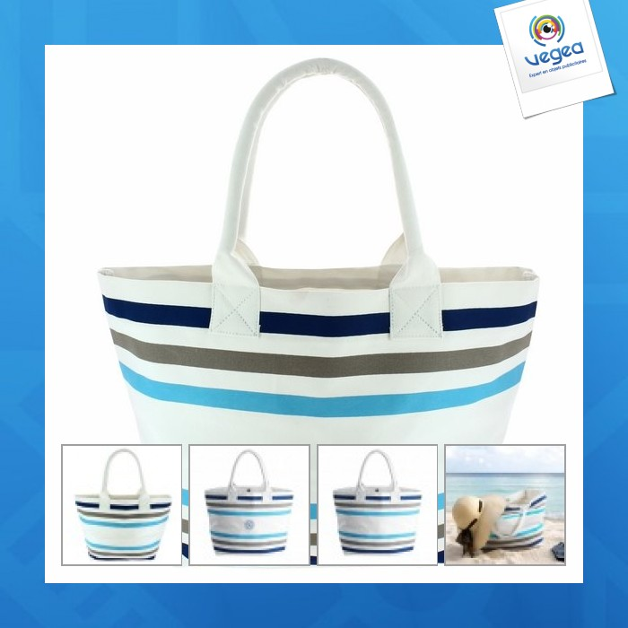 Bio marine - sac de plage logoté