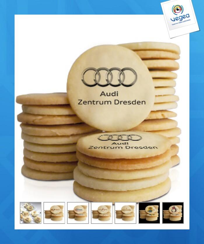 Biscuit imprimé