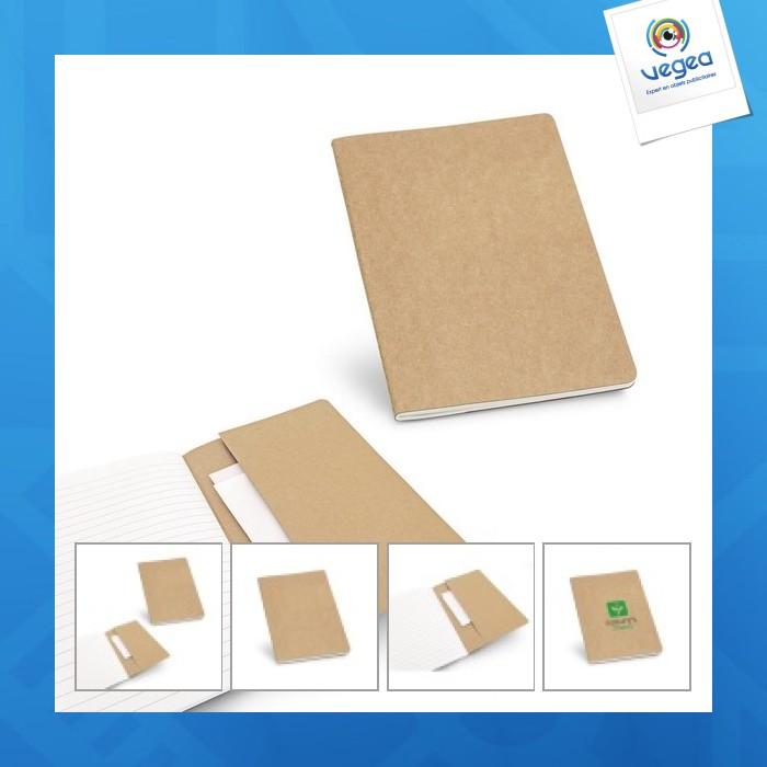 Bloc-notes personnalisé  a5 recyclé
