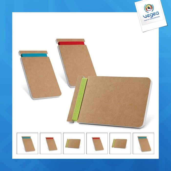 Bloc-notes personnalisable  - bloc-notes. carton