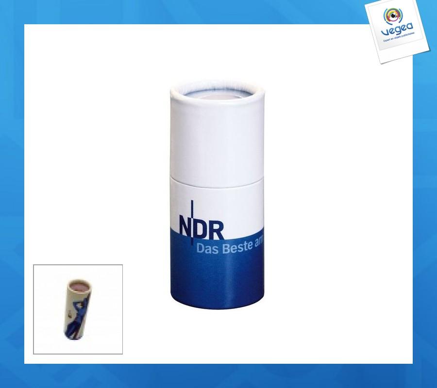 Boîte cylindrique 25mm - 38 allumettes