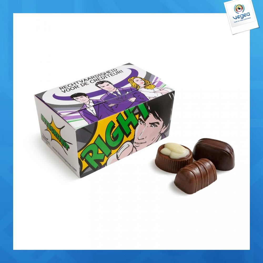Boîte de 10 chocolats