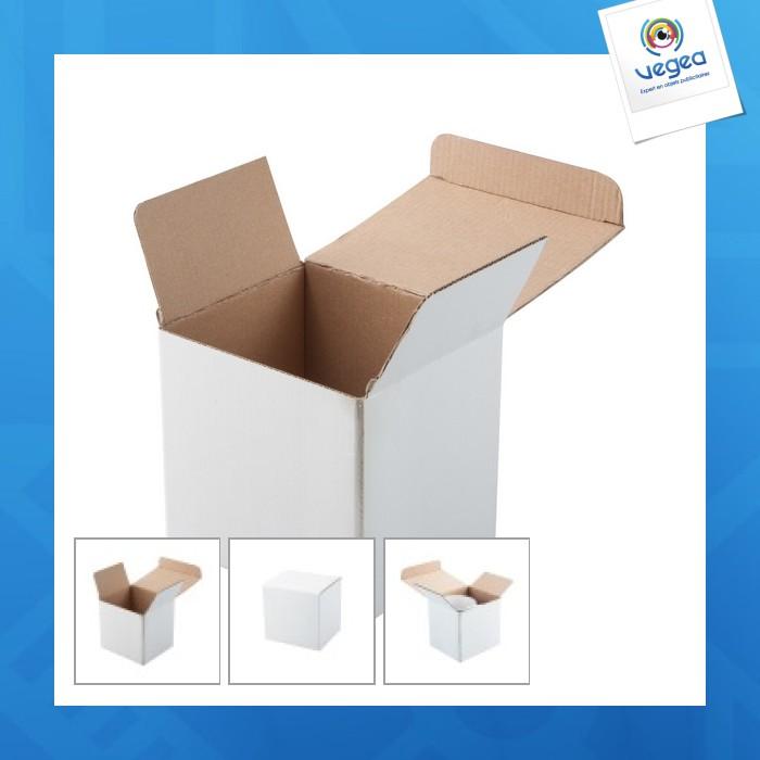 Boîte personnalisable pour mug classique