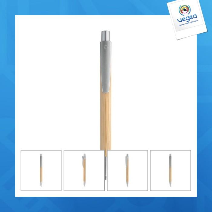 Bolígrafo de bambú
