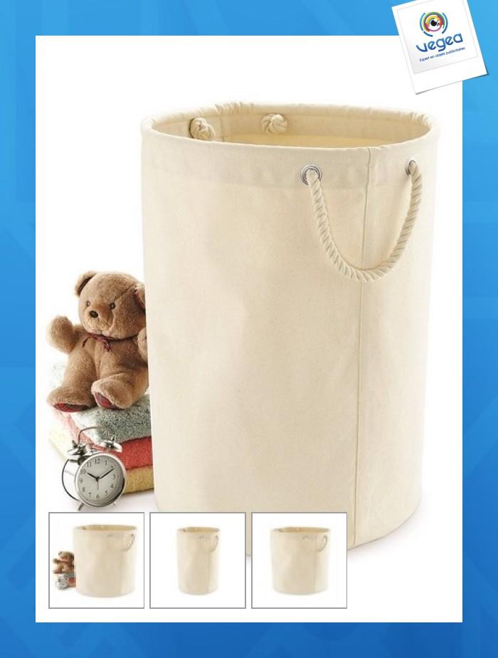 Bolsa de lona de algodón