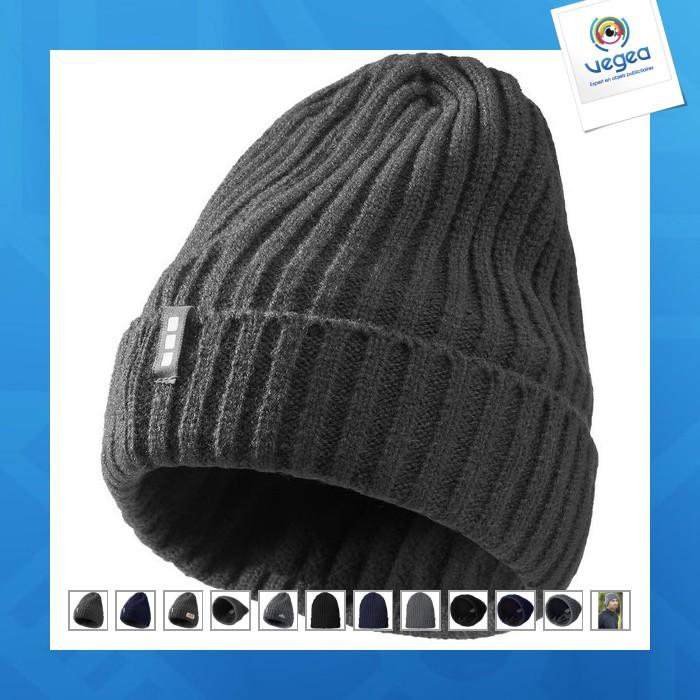 Bonnet personnalisé tricot double