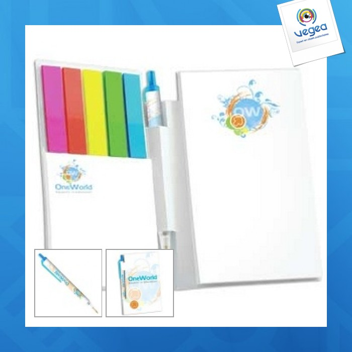 Booklet with ballpen digital ecolutions