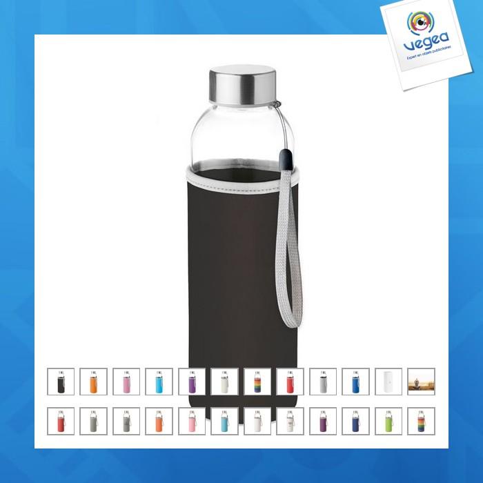 Botella de promoción de vidrio de 500 ml. en utah