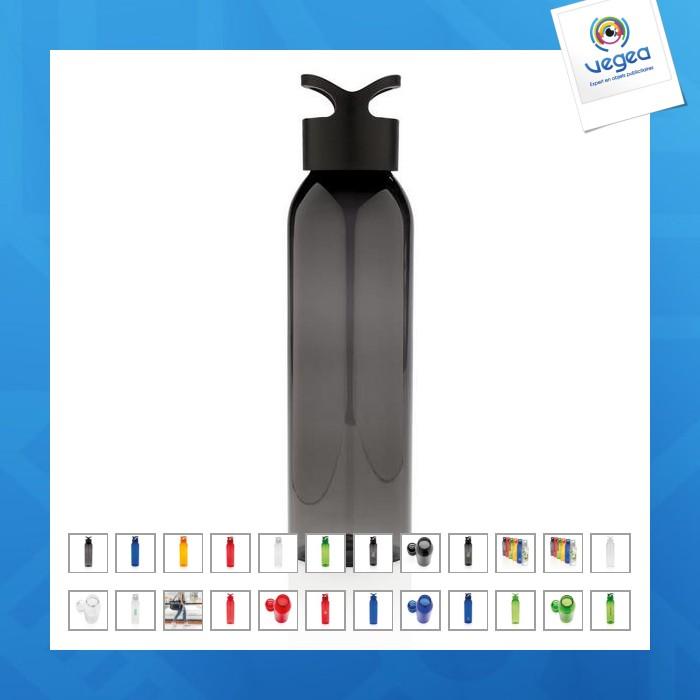 Botella personalizable impermeable de 650 ml