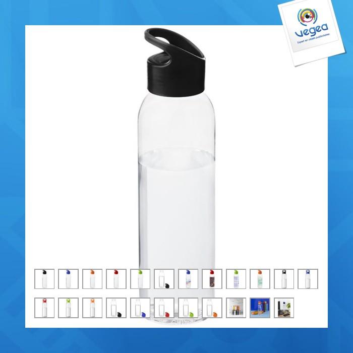 Bouteille publicitaire tritan 650 ml translucide