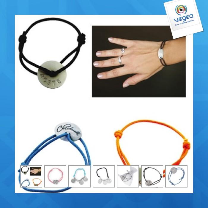 Bracelet bresilien publicitaire metal