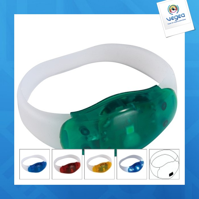 Bracelet lumineux publicitaire