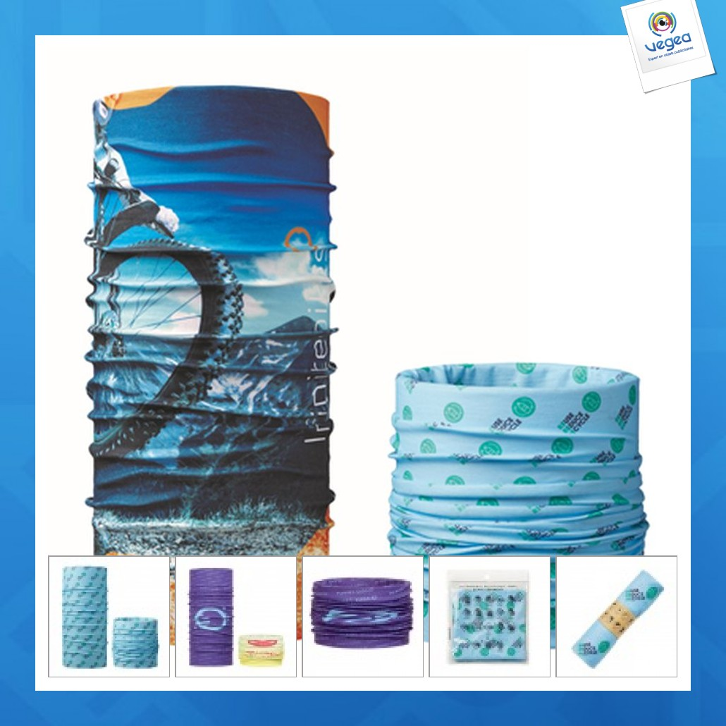 Bufanda multifuncional de alfombra