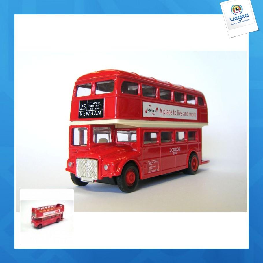 Bus londonien 12cm