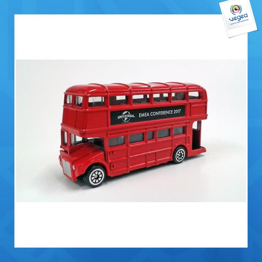 Bus londonien 9cm
