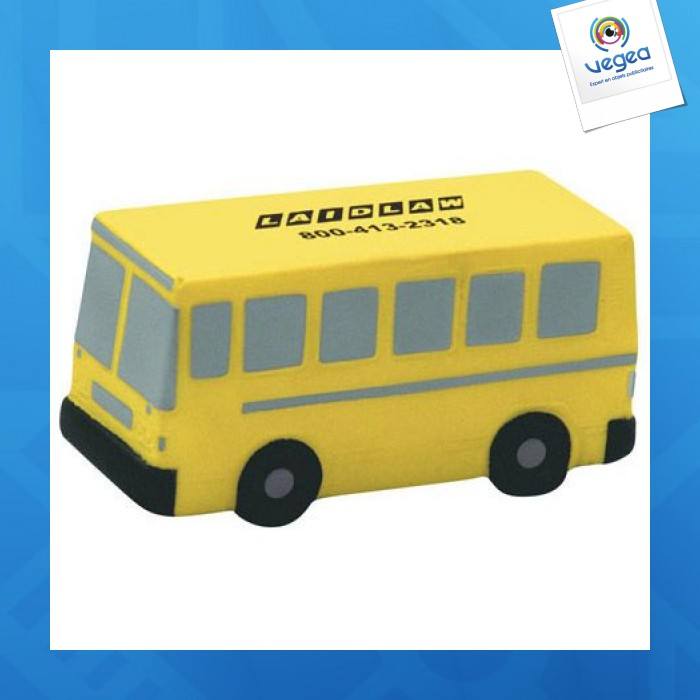 Bus personnalisable 01377v0040290 partir de 2 44 euros ht - Objet anti stress bureau ...