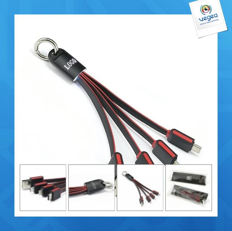 Câble de charge lumineux