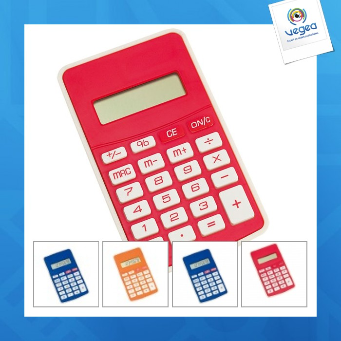 Calculatrice personnalisable result