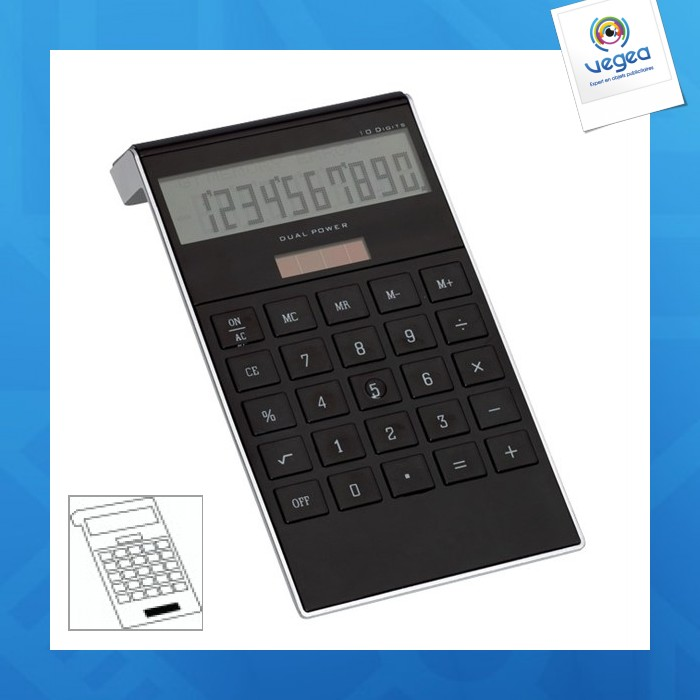 Calculatrice publicitaire dotty matrix