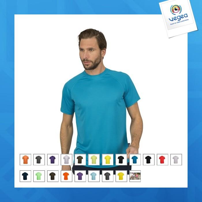 Camiseta transpirable firstee