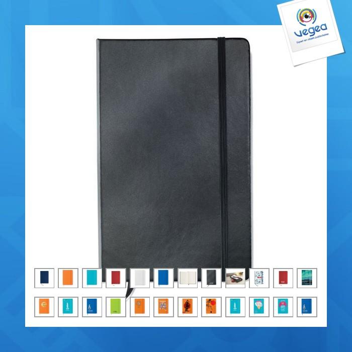 Carnet personnalisable a5, 96 pages, toucher doux à couverture rigide