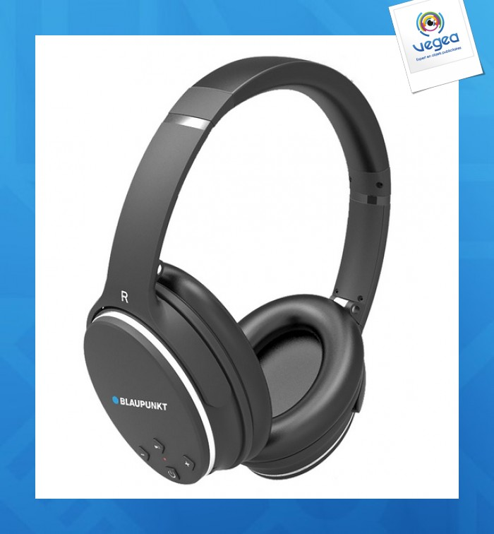 Casque Bluetooth Anti Bruit Blaupunkt Personnalisable 00005v0108992
