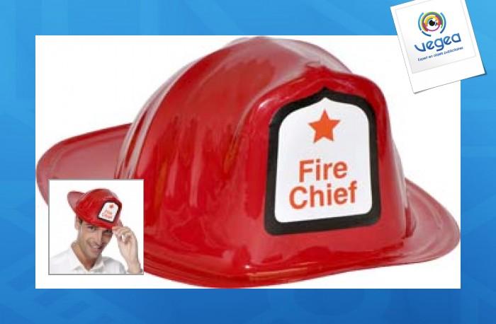 Casque de pompier (déguisement)