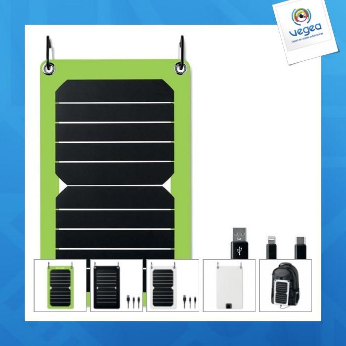 Chargeur personnalisable solaire sortie 5,3w