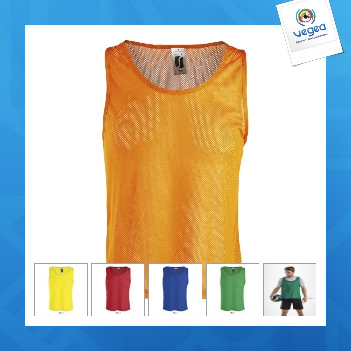 Chasuble personnalisée sol's - anfield - 90210