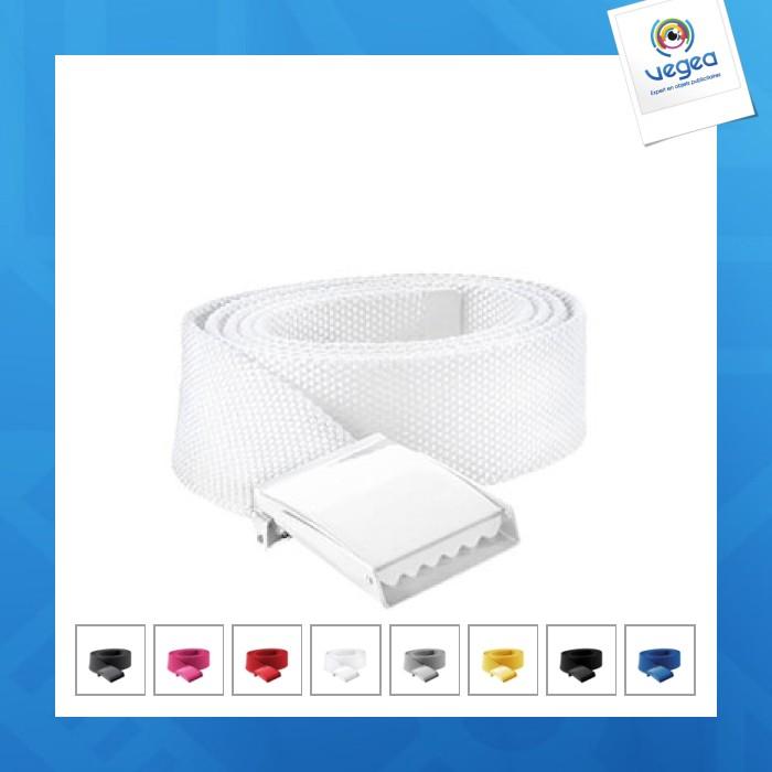 Cinturón personalizable de poliéster