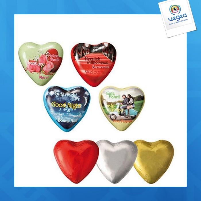 Coeur en chocolat, standard kraft foods