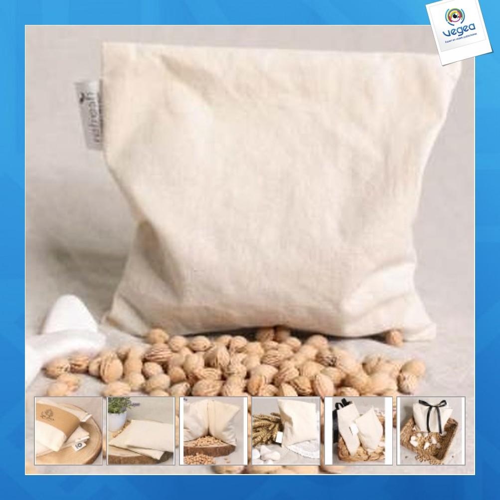 Cojín de piedra de cerezo de algodón