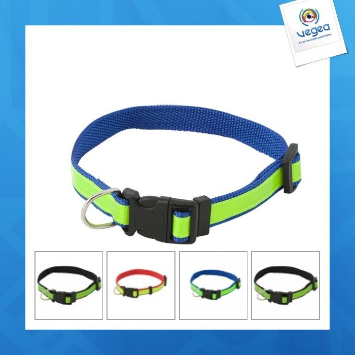 Collier de visibilité pour chien muttley